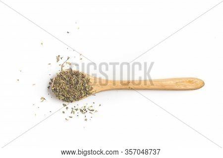 Dried Oregano Into A Teaspoon.