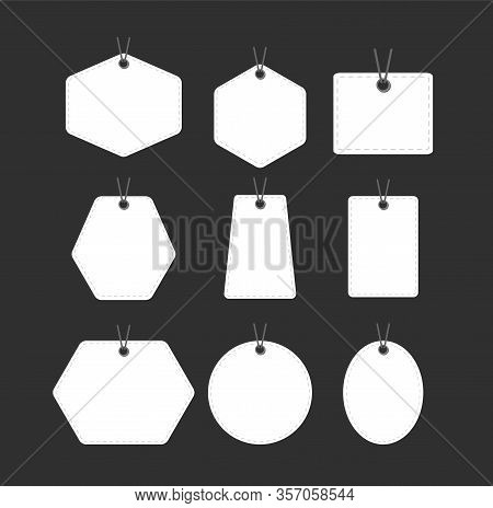 Stickers. Sale Tags Set Vector Badges Template, Discount. Flat Icon, Clearance Sale Sticker Emblem R
