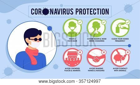 Corona Virus Infographics, Covid19 For Banner, Flyer, Poster