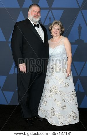 LOS ANGELES - OCT 27:  Dean DeBlois, Bonnie Arnold at the Governors Awards at the Dolby Theater on October 27, 2019 in Los Angeles, CA