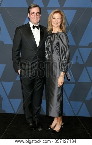 LOS ANGELES - OCT 27:  Bruce Beach, Dawn Hudson at the Governors Awards at the Dolby Theater on October 27, 2019 in Los Angeles, CA