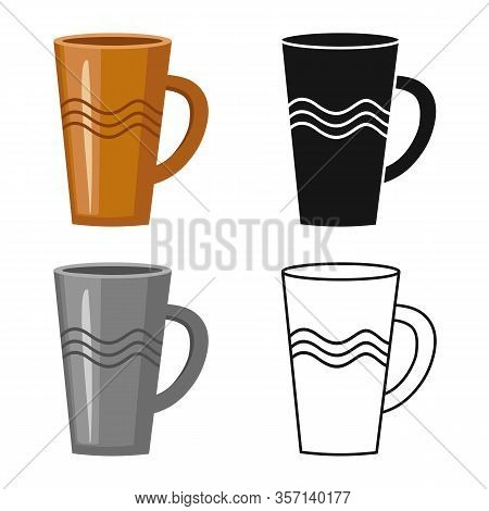Vector Illustration Of Pitcher And Jug Icon. Graphic Of Pitcher And Clay Stock Symbol For Web.