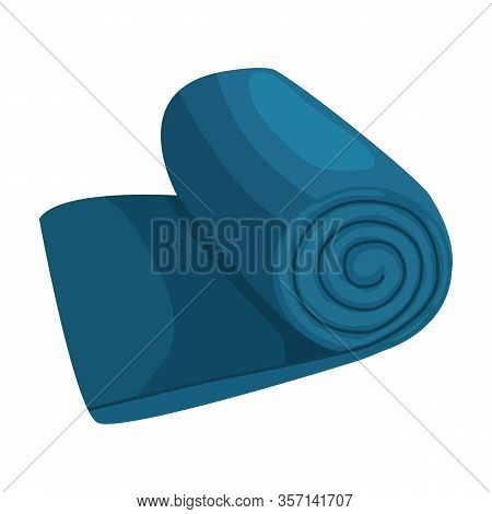 Sleeping Bag Vector Icon.cartoon Vector Icon Isolated On White Background Sleeping Bag .