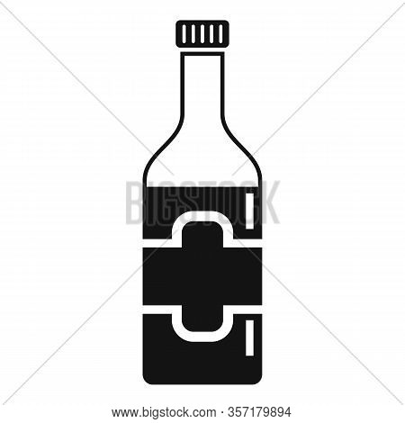 Culinary Condiment Bottle Icon. Simple Illustration Of Culinary Condiment Bottle Vector Icon For Web