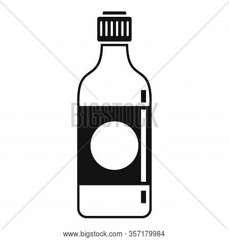 Soy Sauce Bottle Icon. Simple Illustration Of Soy Sauce Bottle Vector Icon For Web Design Isolated O