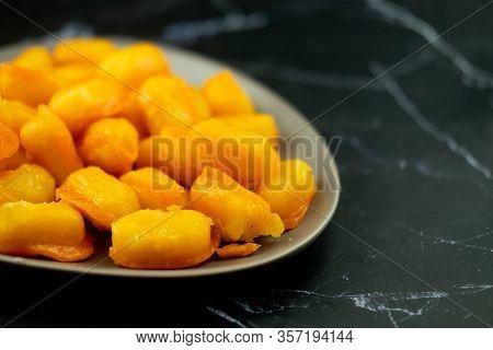 Sweet Jackfruit Seeds, Thai Dessert (thai Called: Met Khanoon)