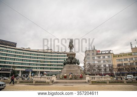 Sofie - March 5, 2020: Monument To The Tsar Liberator