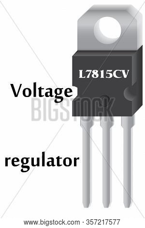 15 Volt Integral Positive Voltage Stabilizer, Which Is Used In Step-down Power Supplies For Differen
