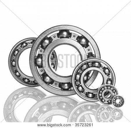 metall Ball bearings - industrial design