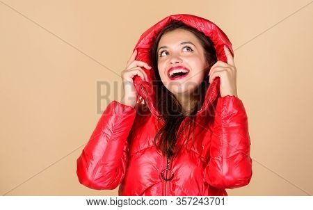 Red Color. Finding Right Winter Jacket Is Essential To Enjoyable Winter Season. Snow Or Rain I Am Re