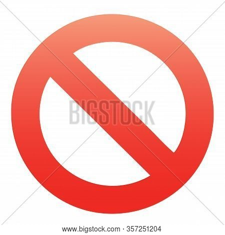 Red, Simple, Clean Stop, Cancel, Block, No, Stoppage, Quit, Remove, Delete, Take Away, Cancelled Ico
