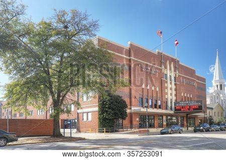 Augusta, Georgia/united States- January 7: The William Bell Memorial Auditorium In Augusta, Georgia.