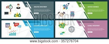 Analysis Investment, Success Business, Financial Investment, Global Investment.  Internet Website Ba