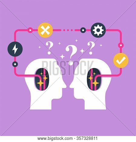 Decision Making, Negotiation And Persuasion, Communication Skill, False Logic Circle, Logical Soluti