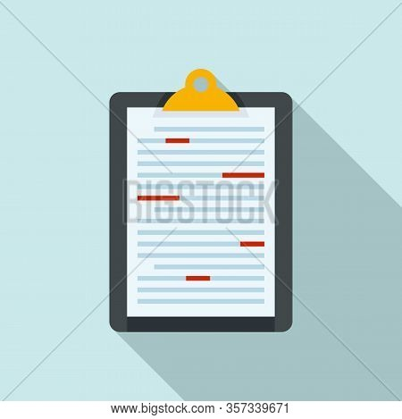 News Editor Icon. Flat Illustration Of News Editor Vector Icon For Web Design