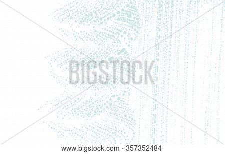 Grunge Texture. Distress Blue Rough Trace. Captivating Background. Noise Dirty Grunge Texture. Uncom