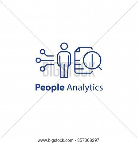 People Analytics Concept, Personal Data Processing, Resignation Prediction, Performance Assessment,