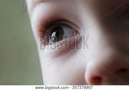 The Child's Eye Is Very Close
