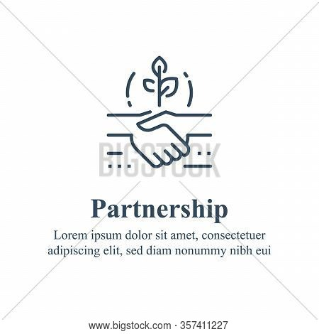 Partnership Or Mutual Trust, Handshake Concept, Negotiation Compromise, Conflict Management, Problem
