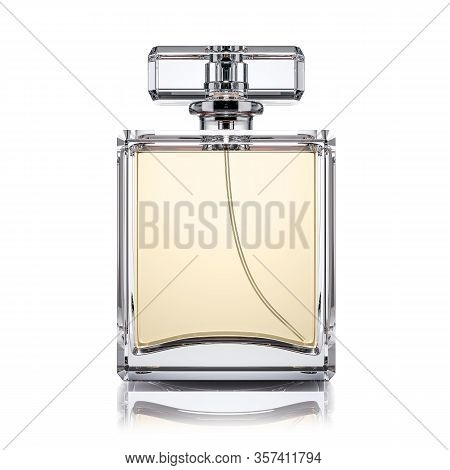 Perfume Bottle Isolated On White Background 3d