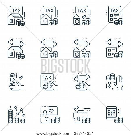 Tax Return Service, Refund Concept, Mortgage Refinance, Annual Payment, Save Money, Taxation Solutio