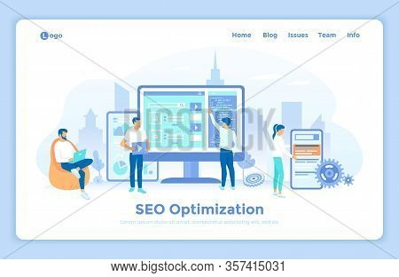 Search Engine Optimization, Seo Analysis, Marketing Strategy For Website And Mobile Website. Seo Ana
