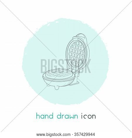 Kitchenware Icon Line Element. Illustration Of Kitchenware Icon Line Isolated On Clean Background Fo