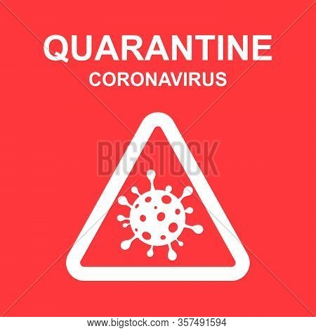 Stay Home Quarantine Coronavirus Epidemic Illustration For Social Media, Stay Home Save Lives Hashta