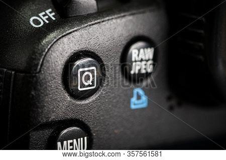Digital Camera Photography Dslr. Professional Equipment. Options