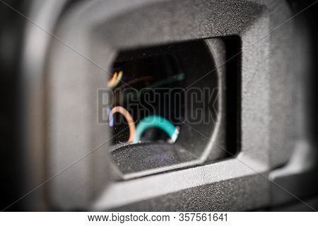 Digital Camera Photography Dslr. Professional Equipment. Optical Viewfinder