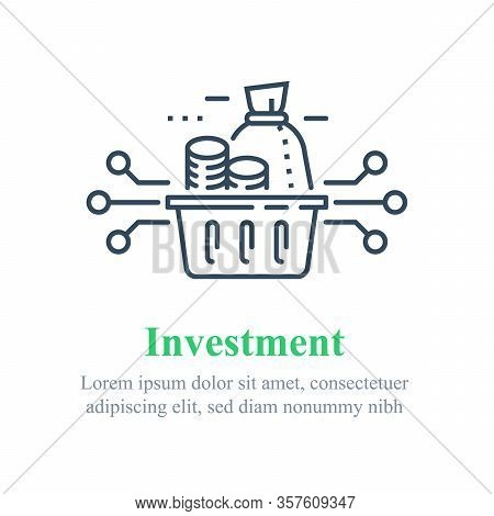 Investment Fund Strategy, Portfolio Diversification, Capital Allocation, Secure Savings, Asset Growt