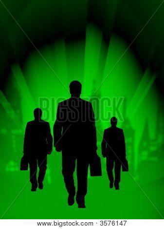 Green Business Team Attitude