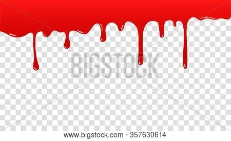 Paint Is Dripping. Dripping Liquid. Paint Is Flowing. Current Paint, Stains. The Current Is Falling.