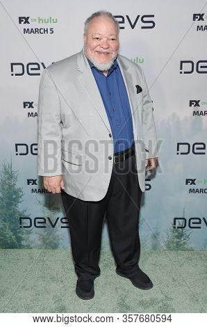 LOS ANGELES - MAR 02:  Stephen McKinley Henderson Stephen McKinley Henderson arrives for FX's Limited Series 'Devs' Los Angeles Premiere on March 02, 2020 in Hollywood, CA