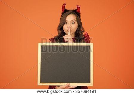 Shh. Halloween Party. Halloween Costumes Designed After Supernatural Figures. Promoting Event. Remem