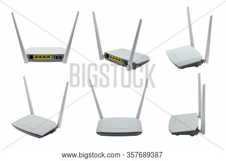 Wireless Adsl2+ Router And Modem, Wifi Router And Switch, Combined Device For Modulation And Demodul
