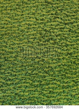 Green Carpet, Texture Of Carpet Background, Close Up Of Green Yarn Carpet