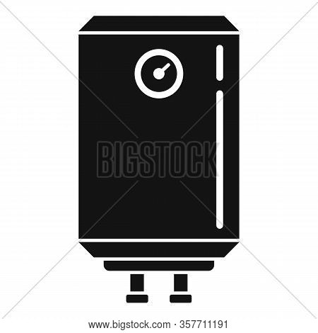 Warming Boiler Icon. Simple Illustration Of Warming Boiler Vector Icon For Web Design Isolated On Wh