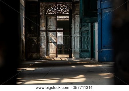 Bangkok, Thailand - Feb 2, 2020 : Within The Old Customs House Or Old Bang Rak Fire Station. One Of