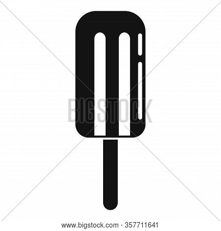 Freeze Popsicle Icon. Simple Illustration Of Freeze Popsicle Vector Icon For Web Design Isolated On