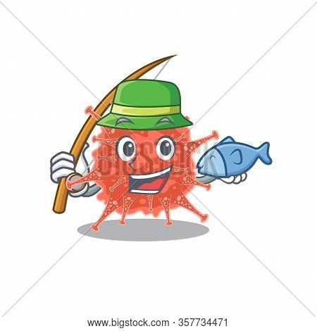 A Picture Of Funny Fishing Orthocoronavirinae Design
