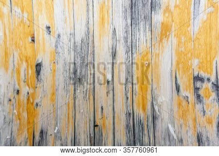 Wood Texture Background Surface With Old Natural Old Table Wood Texture On Top. Wood Grain Texture B
