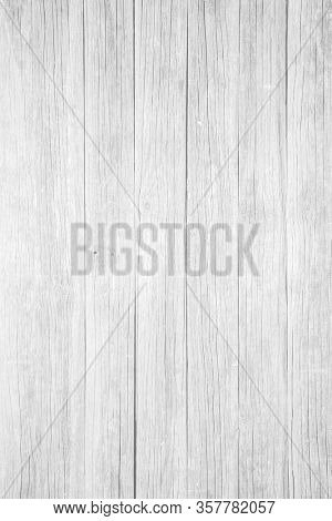 White wooden table background texture
