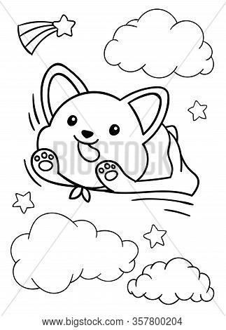 22 Best Corgi coloring pages images | Corgi, Coloring pages, Corgi art | 470x323