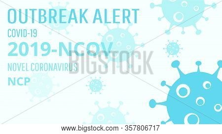 Covid-19 Coronavirus Concept, Novel Coronavirus (2019-ncov) Icon Sign Banner. World Health Organizat