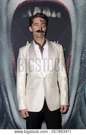 LOS ANGELES - OCT 3:  Matthew Morrison at the American Horror Story 100th Episode Celebration at the Hollywood Forever on October 3, 2019 in Los Angeles, CA
