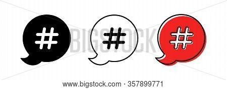 Hashtag Icon 2