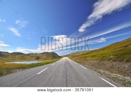 Way to Nordkapp/Northcape, Finnmark, Norway