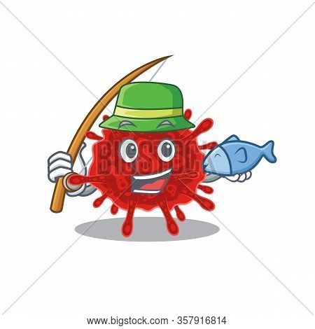 A Picture Of Funny Fishing Buldecovirus Design