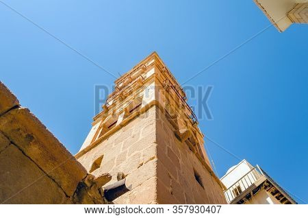 The Bell Tower In The Monastery Of St. Catherine. Sinai, Egypt.
